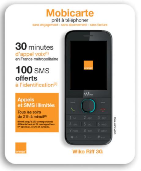 8f76b7a81b68be telephone portable sans abonnement mobicarte. Je veux voir plus de Téléphones  Portables bien noté par les internautes et pas cher ICI