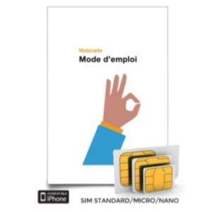 carte sim orange mobicarte Cartes SIM prépayée Orange Mobicarte chez Telokit.com
